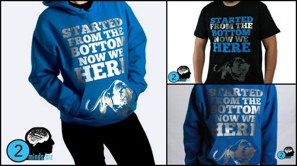Rockin' Custom T-shirt Design Service in NC | Two Minds ...